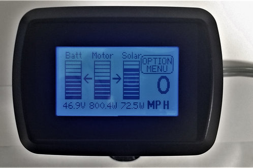 ELF Informer - Solar Charger in Rear