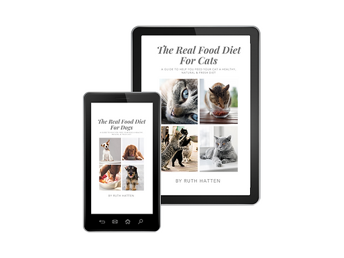 The Real Food Diet for Dogs & Cats eBook Bundle