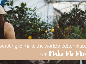 Collaborating to make the world a better place, with Make Me Mindful