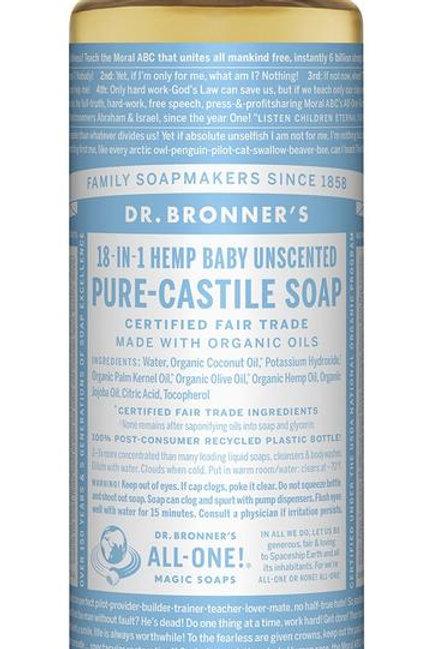 Dr Bronner's Liquid Castille Soap