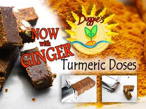 Turmeric - how to make sure you reap the benefits + Duggie's TU*GO Turmeric Power Bar Review