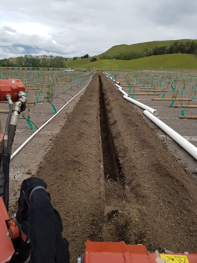Breakaway from the pack with efficient irrigation installation