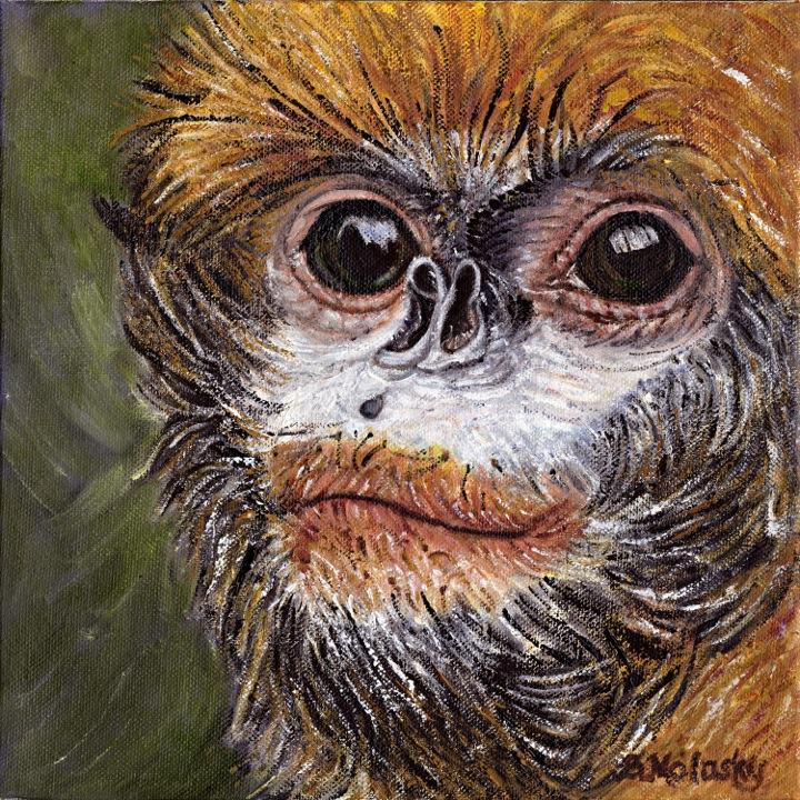 Guizhou snub -nosed monkey