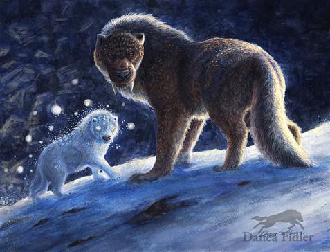 The Guoak Snow Spirit Pup