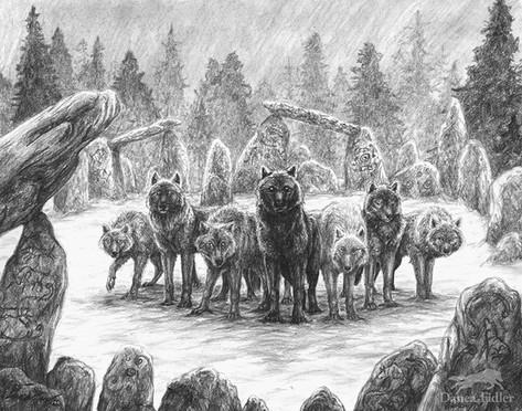 Elemental Wolf Pack