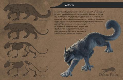 Vottrik Creature Design