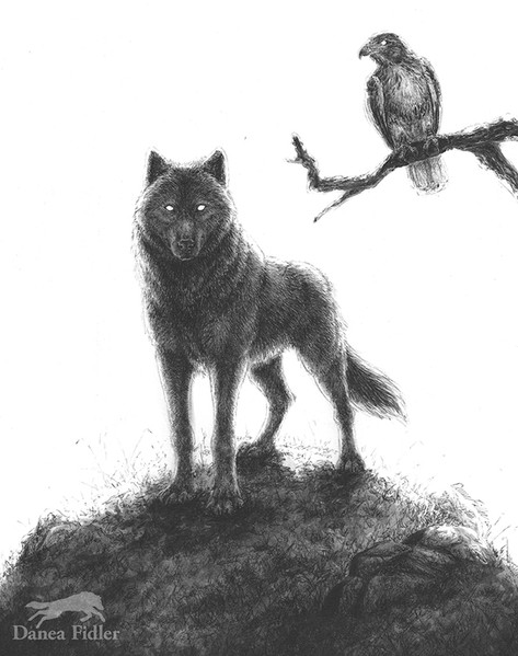 The Two Guides - The Wolf & Hawk