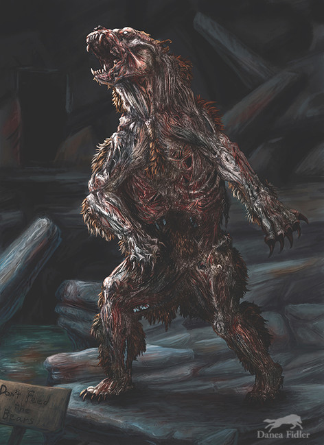 Ulach the Zombie Bear