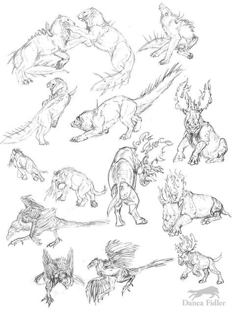 Danea Fidler - Assignment 8 - Sketchbook