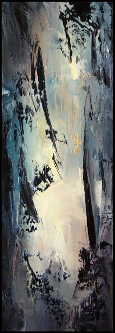 Fuji - Huile sur toile - www.plazamargarita.com