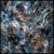 Abstrait 2506161 - Huile sur toile - PLAZA