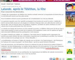 Téléthon 2005 - Lalande, Toulouse
