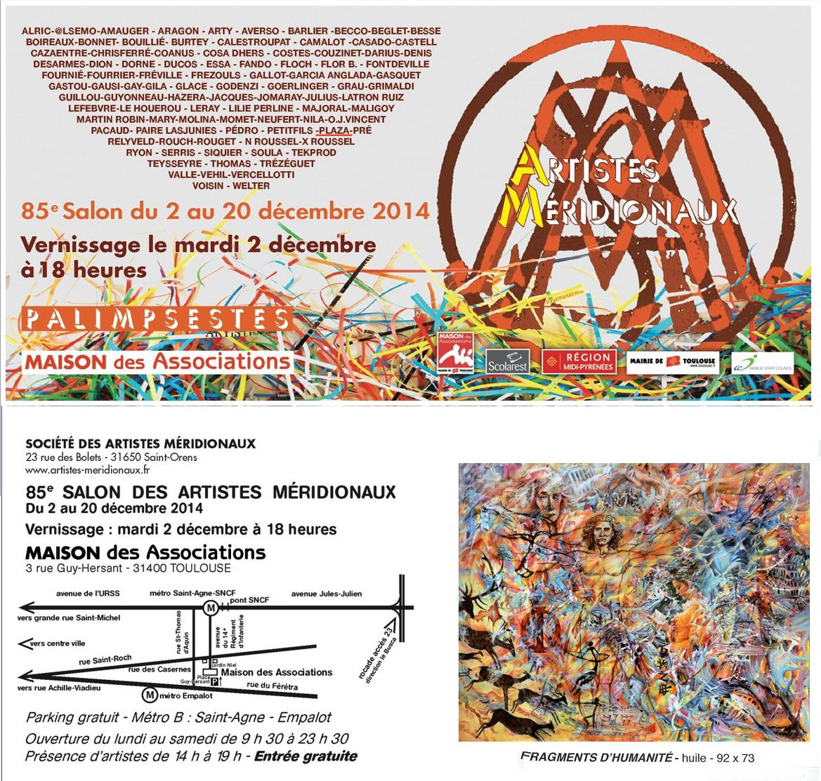 Exposition Artistes Méridionaux