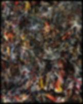 Huile sur toile - A mon père 150 x 120
