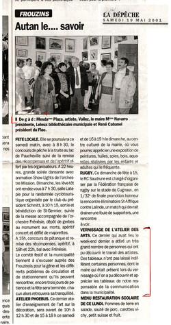 2001 La Dépêche du Midi