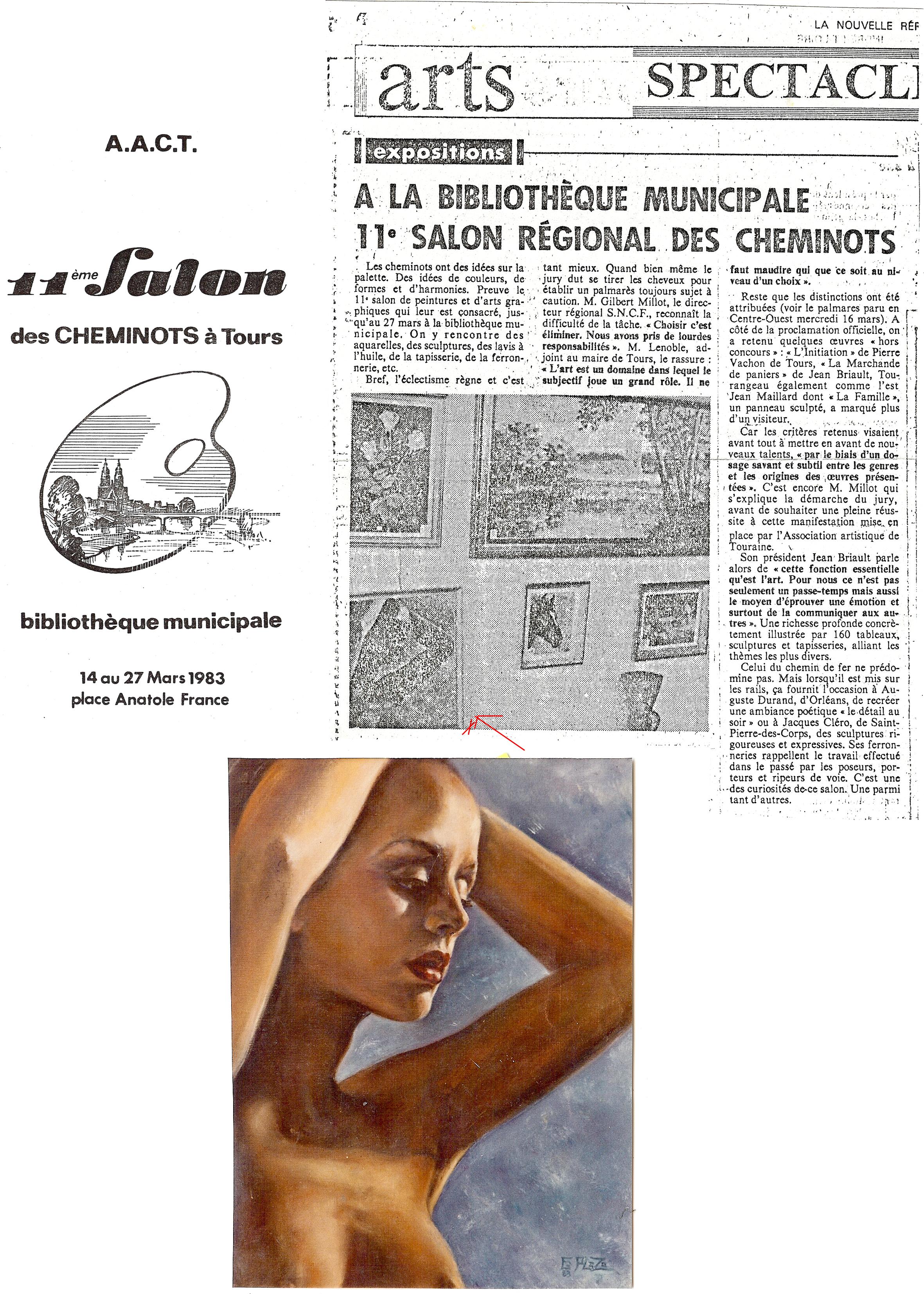1989 Salon peinture - Tours