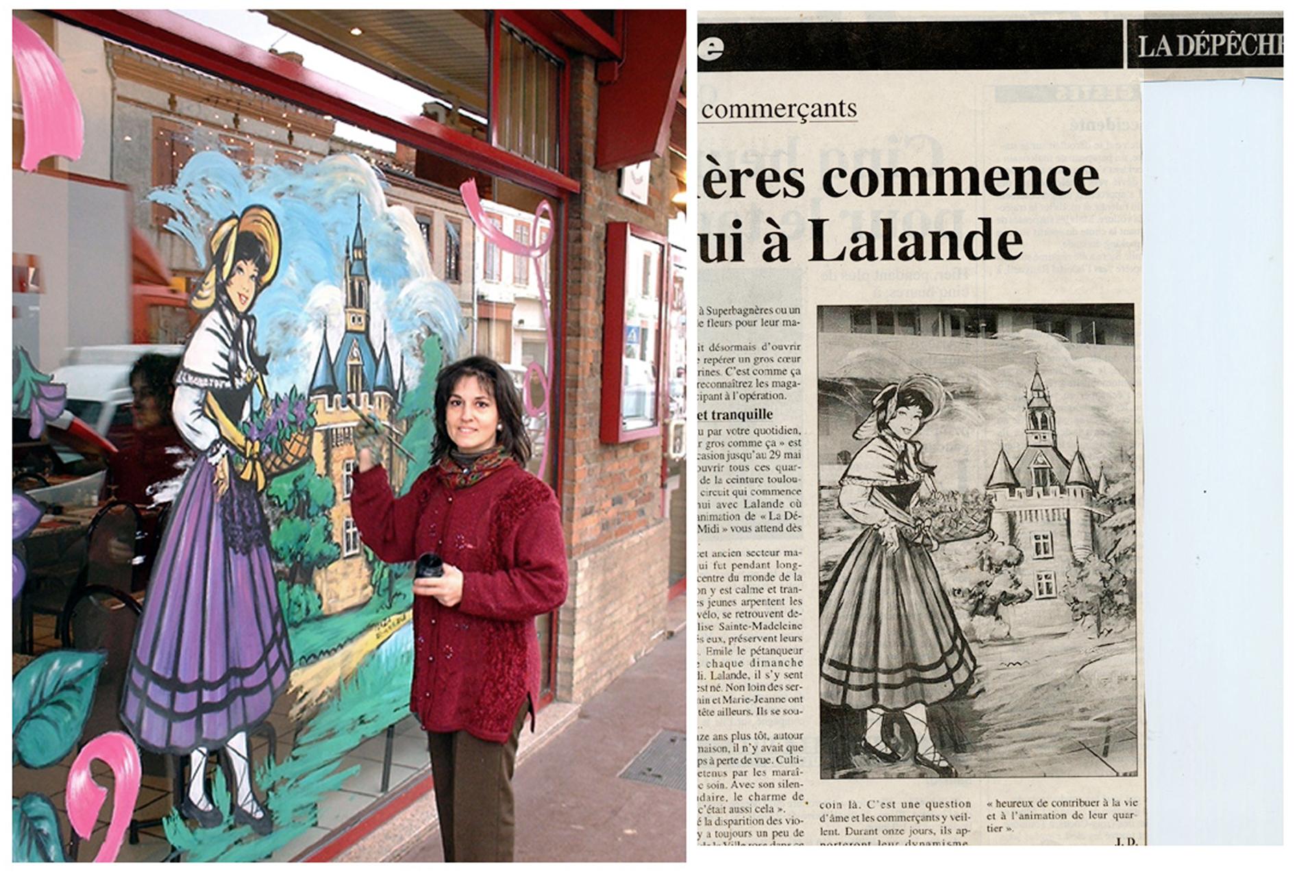 Décors peint - Toulouse Lalande