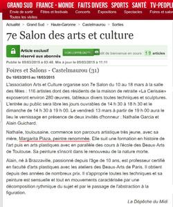7e Salon Castelmaurou La dépêche