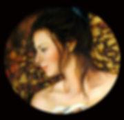 Femme icone - Huile sur toile - www.plazamargarita.com