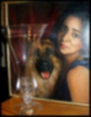 Portrait à l'huile sur toile - www.plazamargarita.com