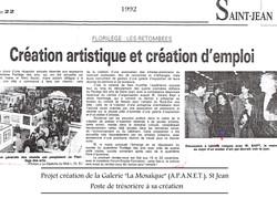 1992 La Dépêche du Midi - St Jean