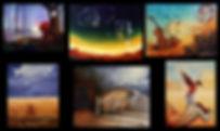 Tableaux surréalistes - Huiles sur toile - www.plazamargarita.com