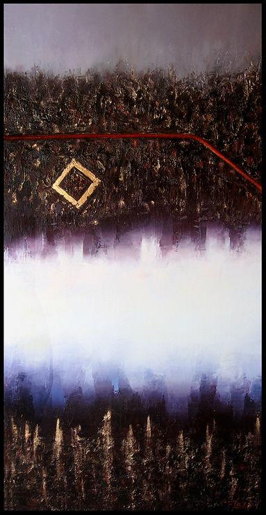 Terre 1 - Huile sur toile - www.plazamargarita.com