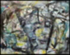 Pile ou face - sur toile/Huile - www.plazamargarita.com