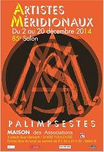 Affiche  85e Salon des Artistes Méridionaux_Site : plazamargarita.com
