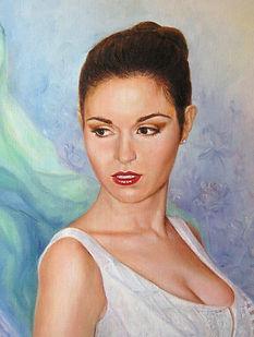Portrait sur commande - Huile sur toile - www.plazamagarita.com