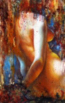 Nu 'Vivian' - Huile sur toile - www.plazamargarita.com