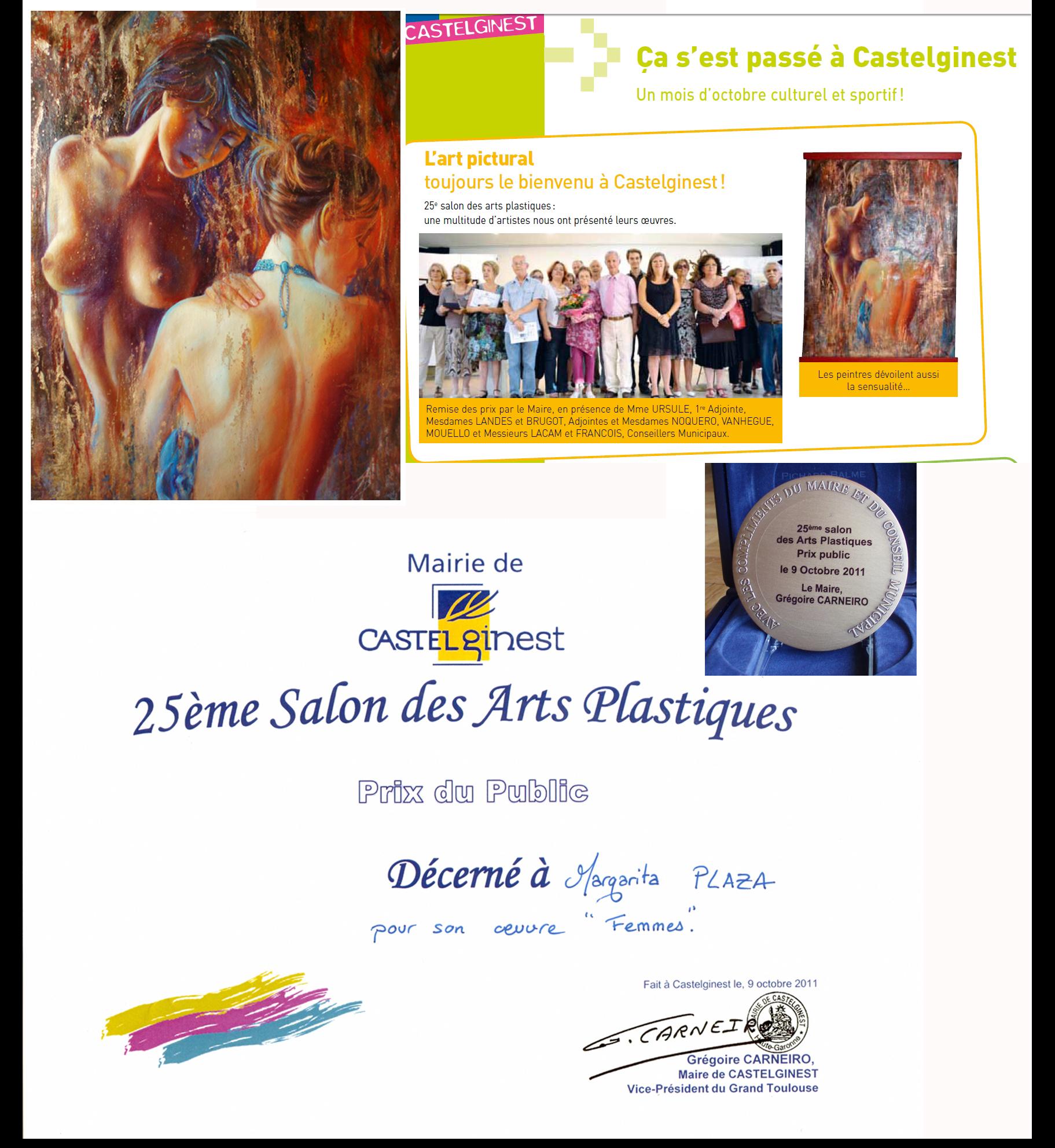 2012 Prix du public Castelginest