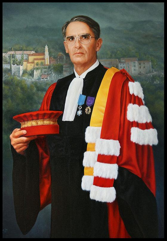 Portrait sur commande - Huile sur toile - www.plazamargarita.com