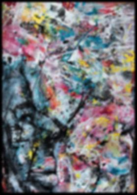 Interdépendants - Huile/toile - www.plazamargarita.com
