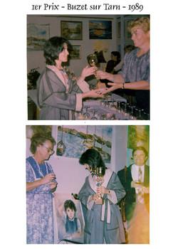 1984 Remise 1er prix du Jury -Buzet