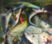 IAH (détail) - Huile sur toile - www.plazamargarita.com