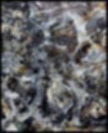 Abstrait 070117 - Huile sur toile - PLAZA