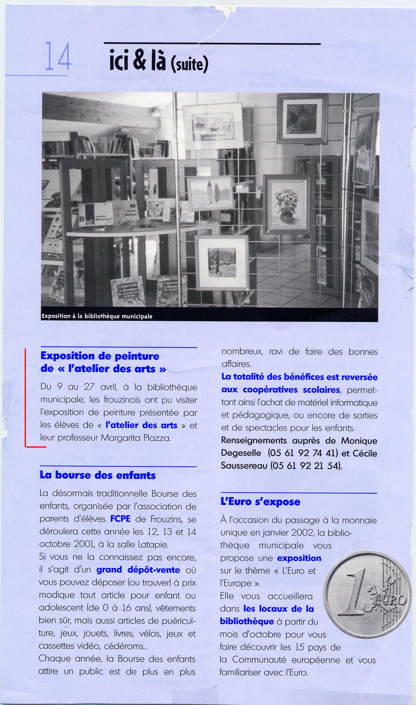 2001 Info Frouzins