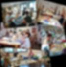 Quelques ateliers où j'ai exercé : Frouzins, Castelginest, centre Culturel de Toulouse Lalande... www.plazamargarita.com