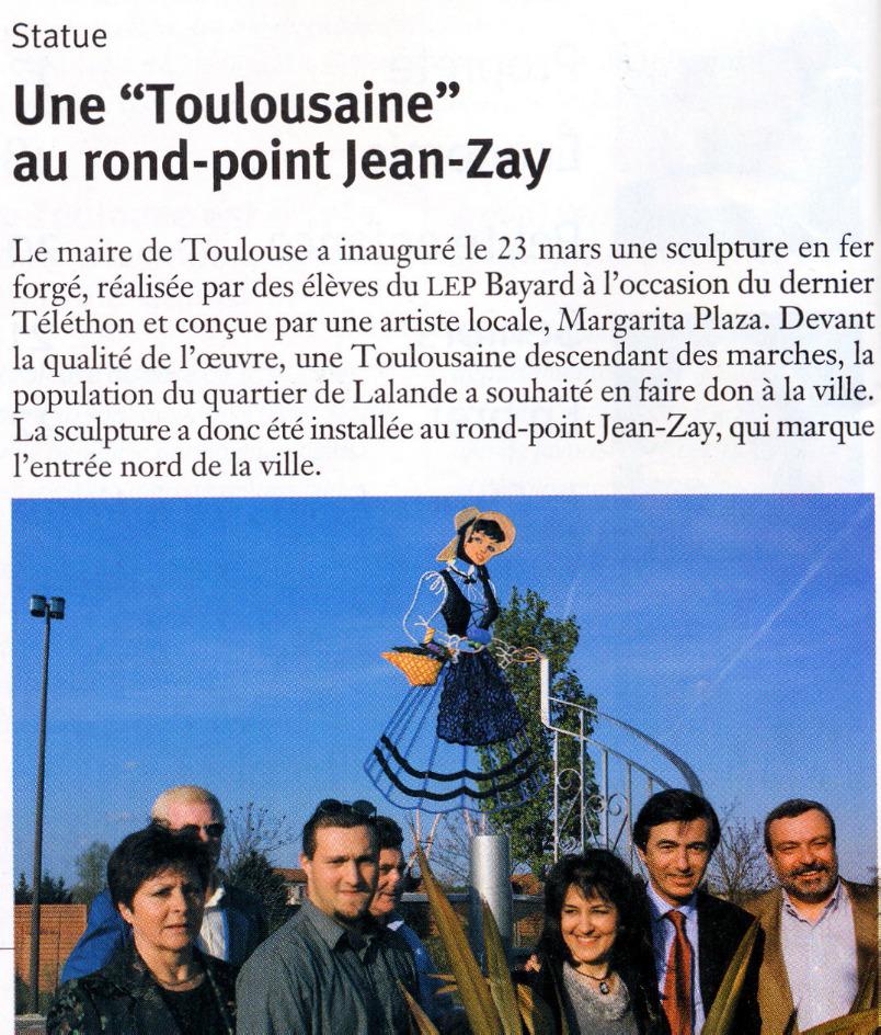 Inauguration Toulousaine-Lalande