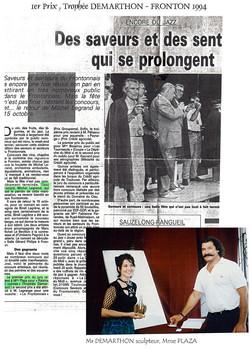 1994 La dépêche du Midi- Fronton