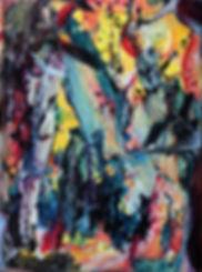 Rêve de lune - Huile sur toile -www.plazamargarita.com