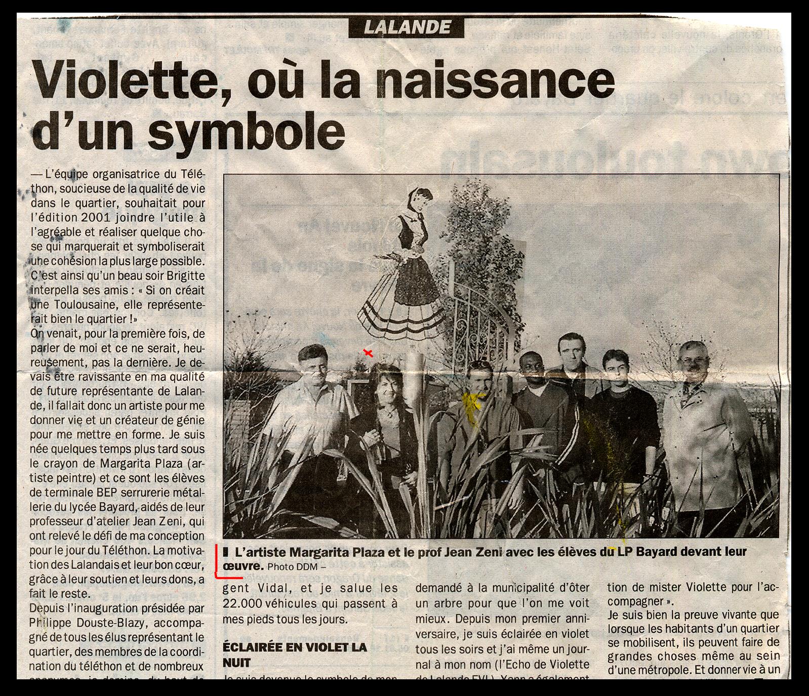 Inauguration de 'La Toulousaine'