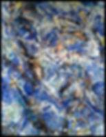 Abstrait 25026161 - Huile sur toile 100x80 - PLAZA