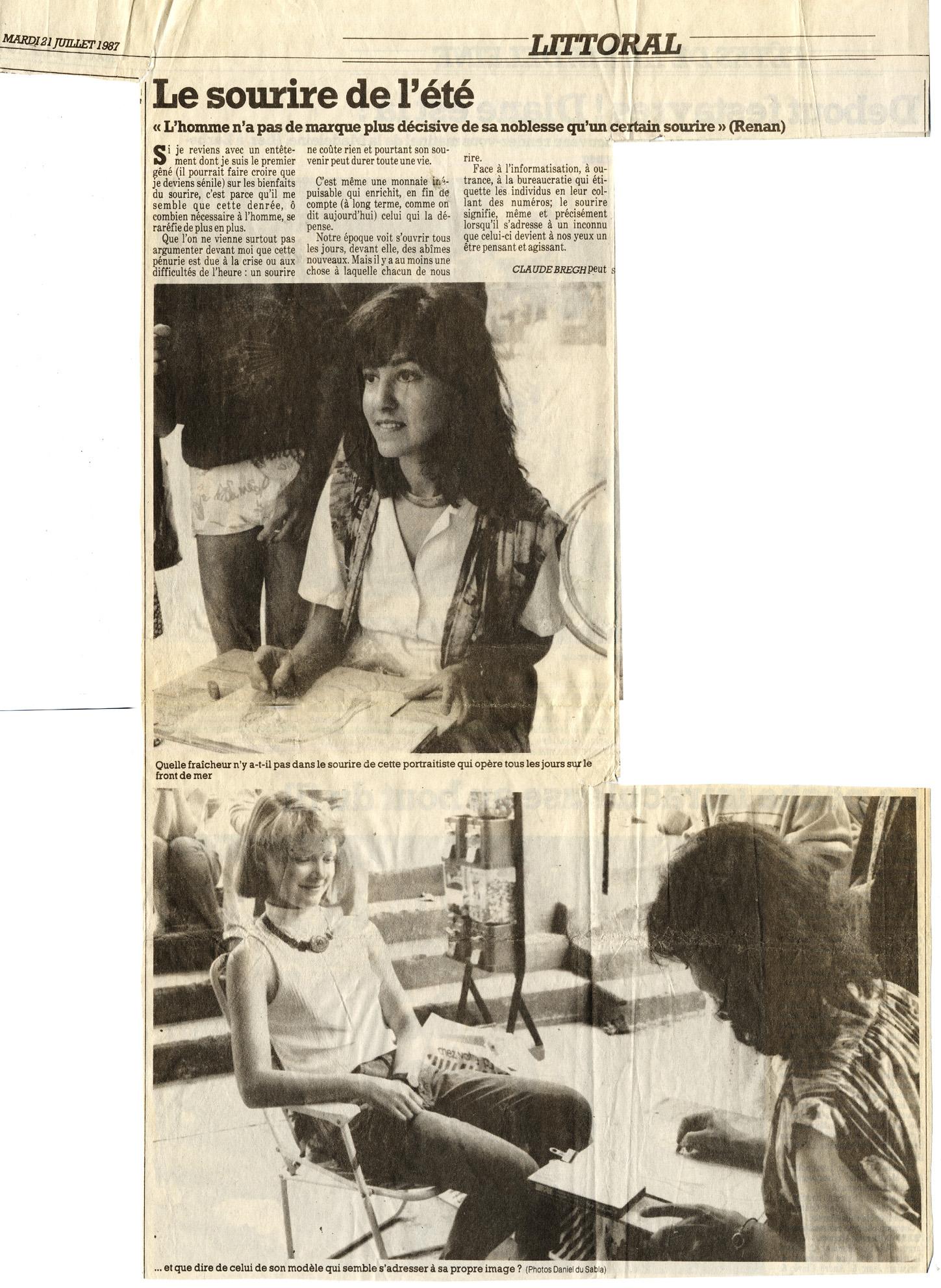 1987 Journal du Sud Ouest