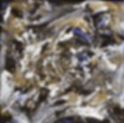 Profil - Huile sur toile - PLAZA