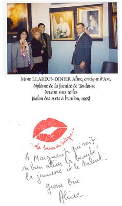 1995 Note de Mme Llareus-Dinier