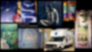 Décors peints, pinceaux, aérographe. www.plazamargarita.com