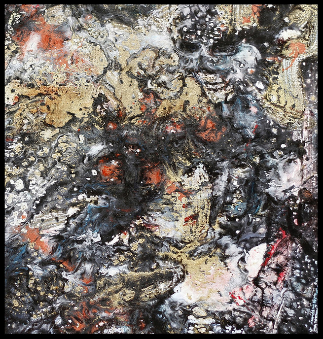 Apparat (détail) - Huile sur toile - PLAZA