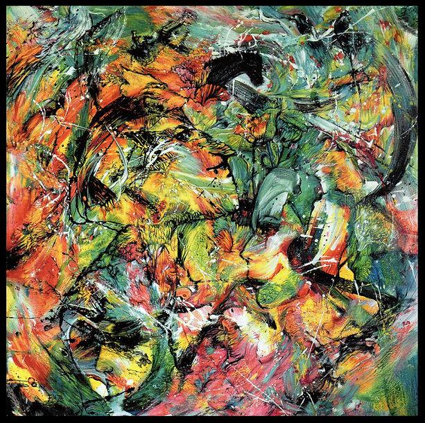 Evolution - Huile/toile - Sélection Art today - Le Portrait dans l'Art Contemporain - www.plazamargarita.com